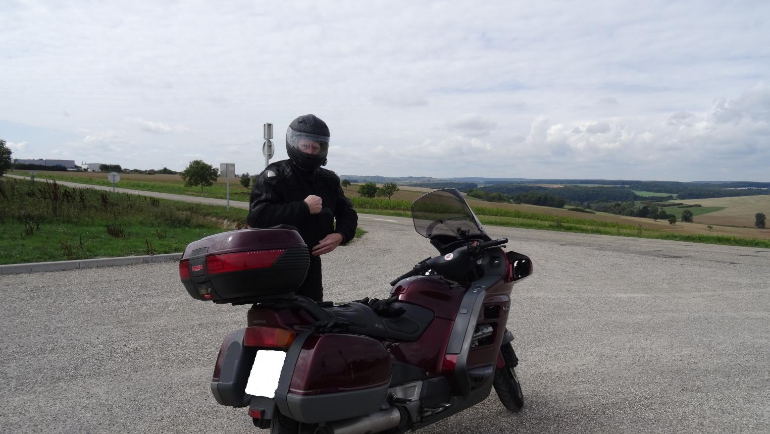 Köfte und sein Motorrad
