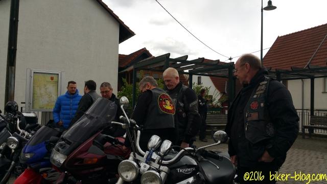 Motorradsegnung: Denn er hat seinen Engeln befohlen über dir, daß sie dich behüten auf allen deinen Wegen