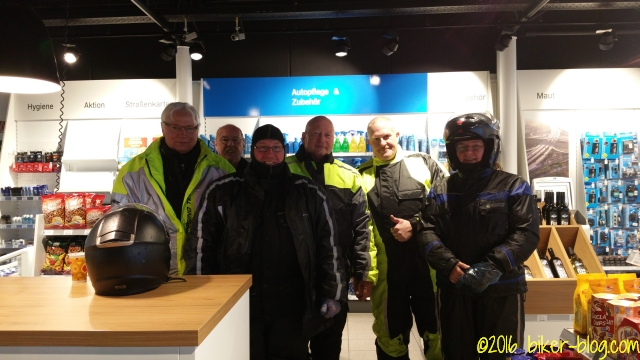 Autohof Schkeuditz, Treffen mit Hendrijk